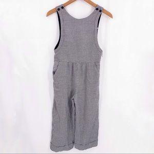 Zara herringbone jumpsuit coverall 11/12